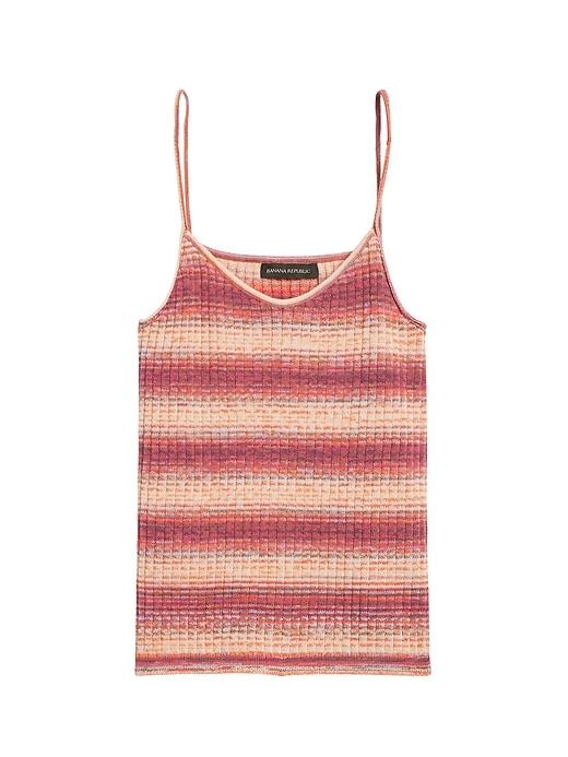 Ombré Stripe Sweater Tank