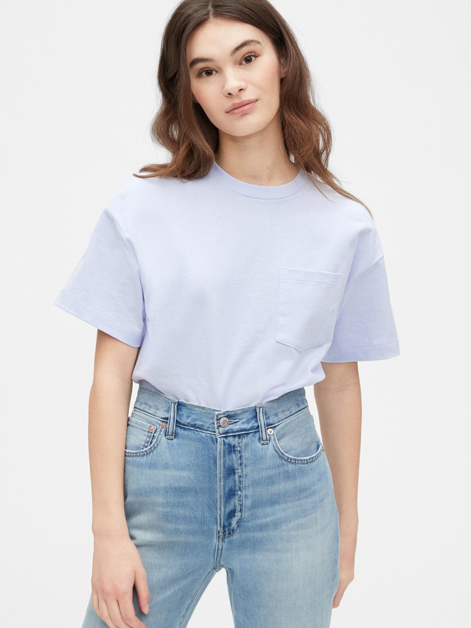 ポケット ヘビーウェイトtシャツ