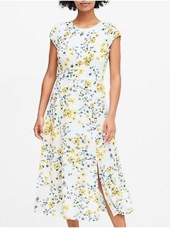 ECOVERO&#153 Midi Dress