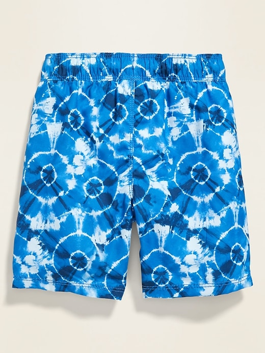 Tie-Dyed Swim Trunks for Toddler Boys