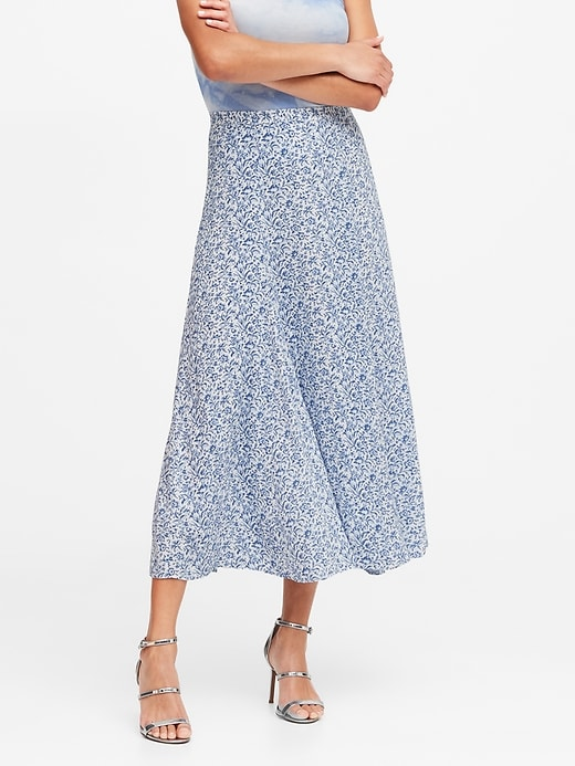 ECOVERO&#153  Long Midi Skirt