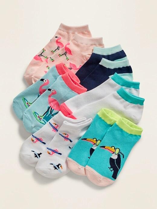 Fashion Socks 6-Pack for Girls