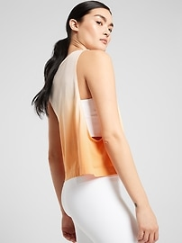 Mineral Wash Crop Tank Ombre