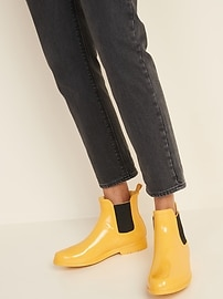 Ankle Rain Boots for Women