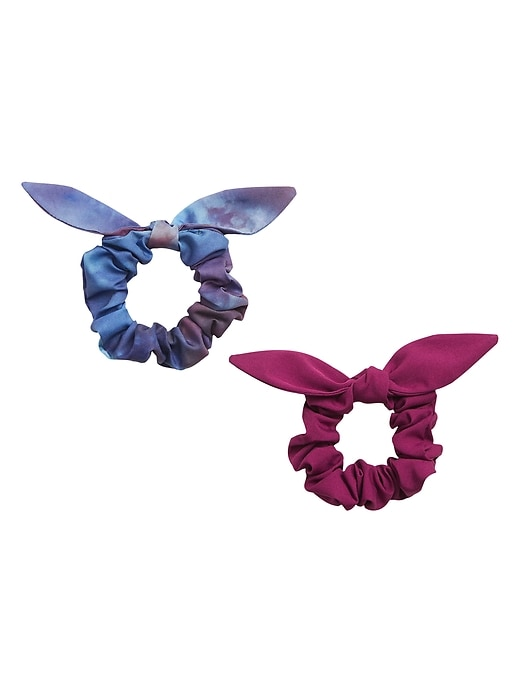 Bow Scrunchie 2&#45Pack