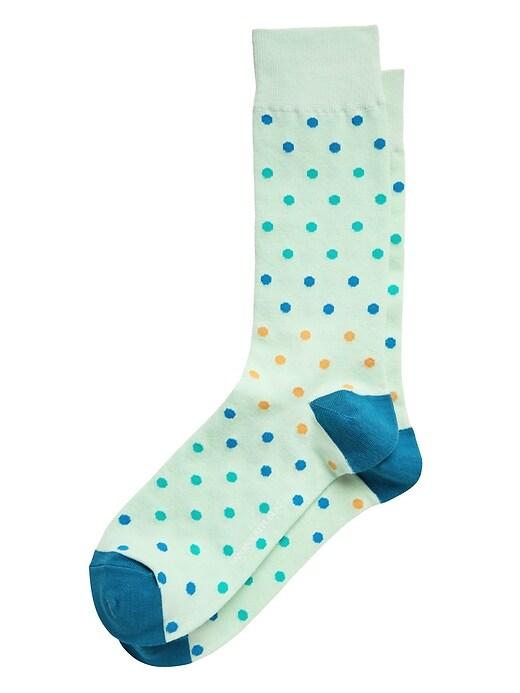 Gradient Dots Sock