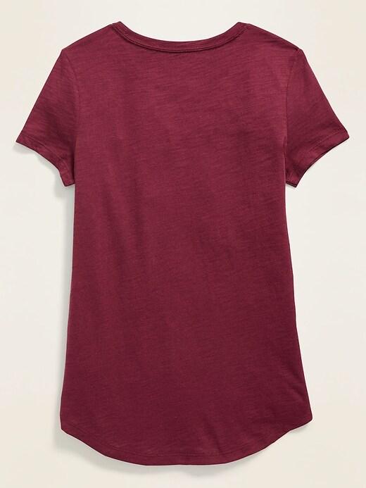 Softest Slub-Knit Tee for Girls