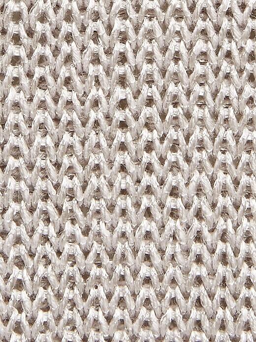 Linen-Blend Boat-Neck Sweater
