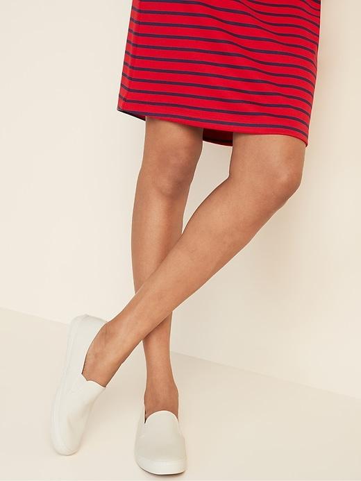 Canvas Slip-Ons for Women
