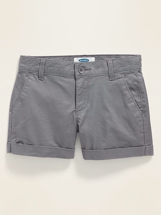 Twill Chino Shorts for Girls