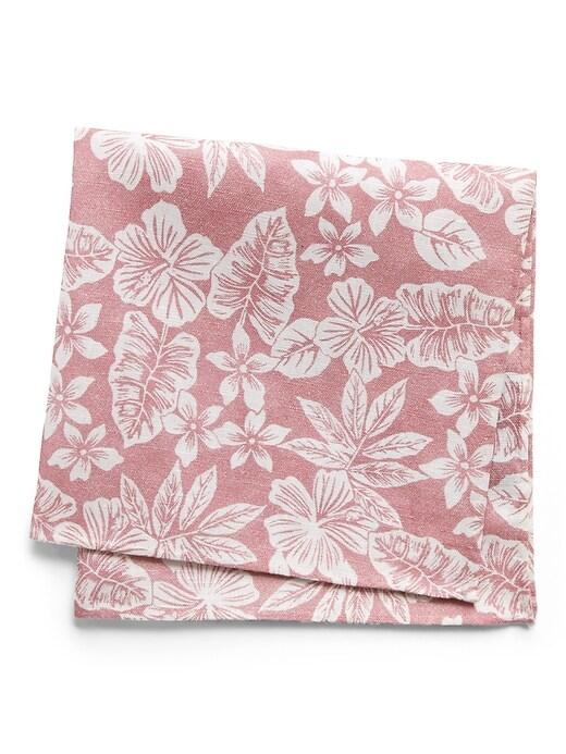 Aloha Linen-Cotton Pocket Square