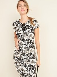 Maternity Jersey Bodycon Dress