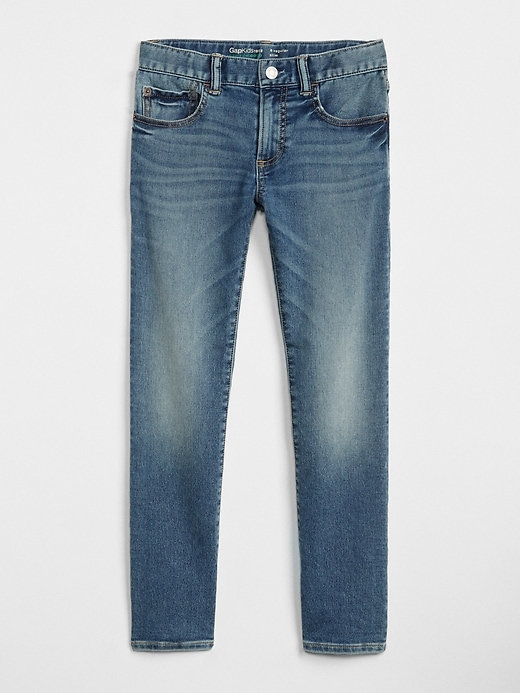 Kids Slim Jeans With Stretch