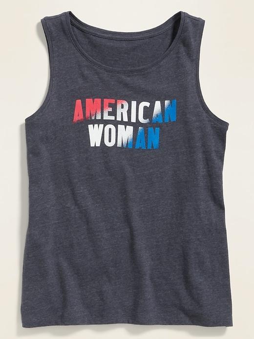 EveryWear Americana-Graphic Tank Top for Women