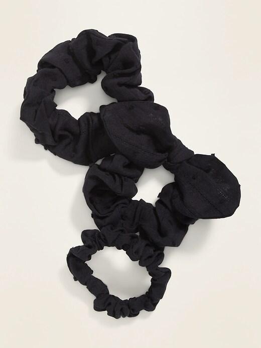 Multi-Scrunchie 3-Pack for Girls