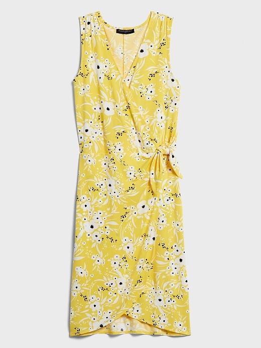 Tie-Knot Wrap Dress