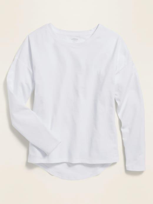 Softest Uniform Long-Sleeve Tee for Girls