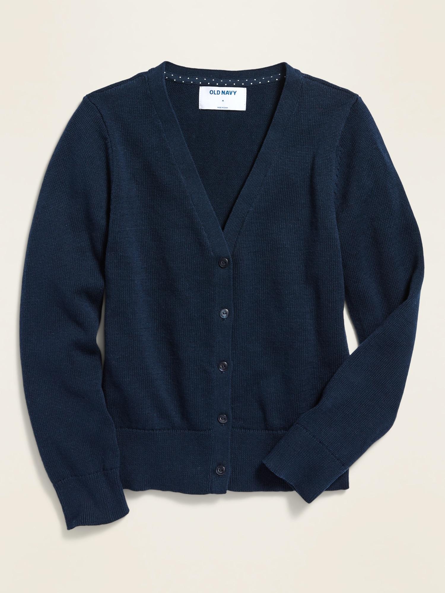 *Best Seller* Uniform V-Neck Cardigan for Girls