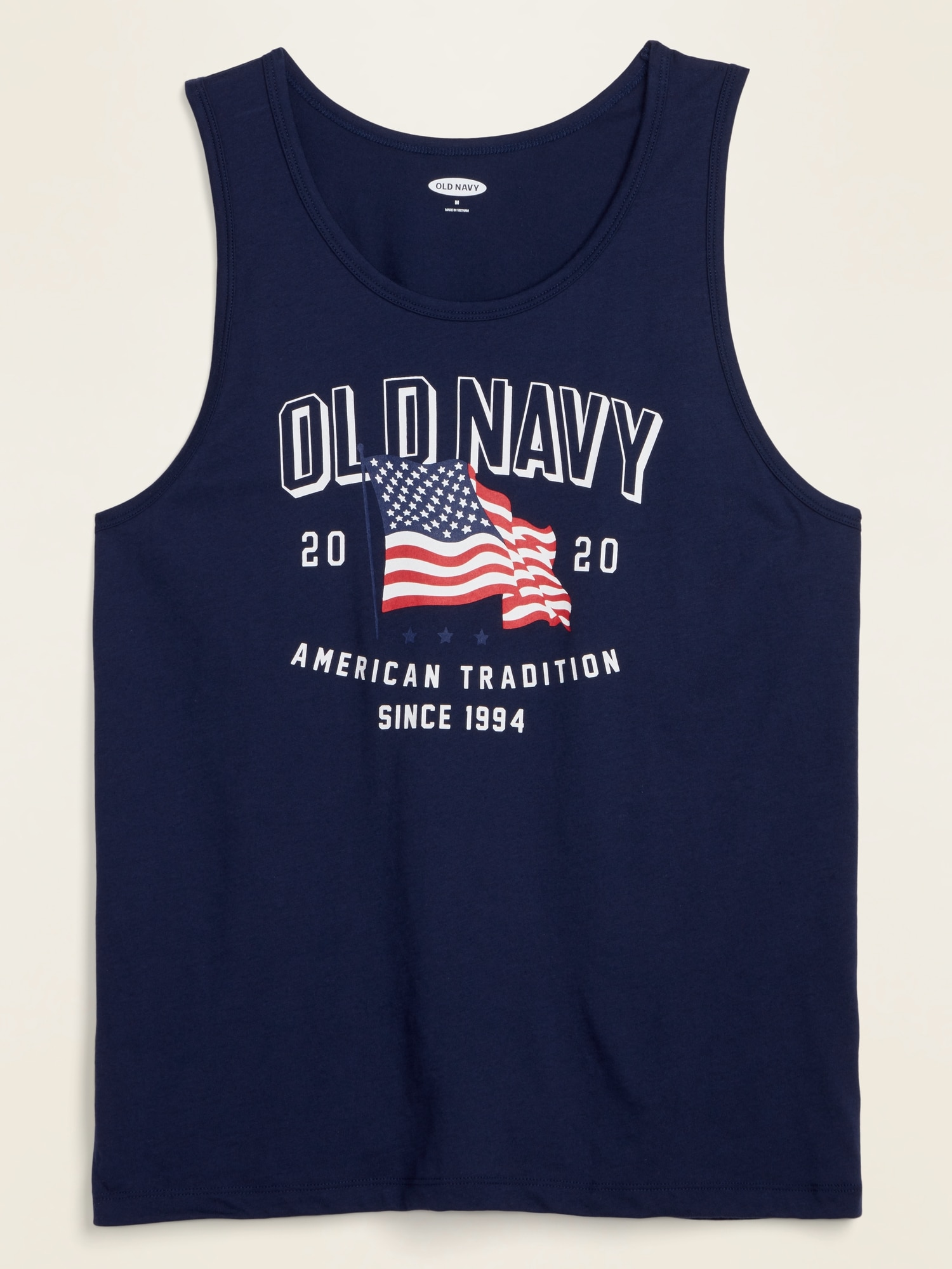 Old Navy Christmas Hours 2020 2020 U.S. Flag Tank Top for Men   Old Navy