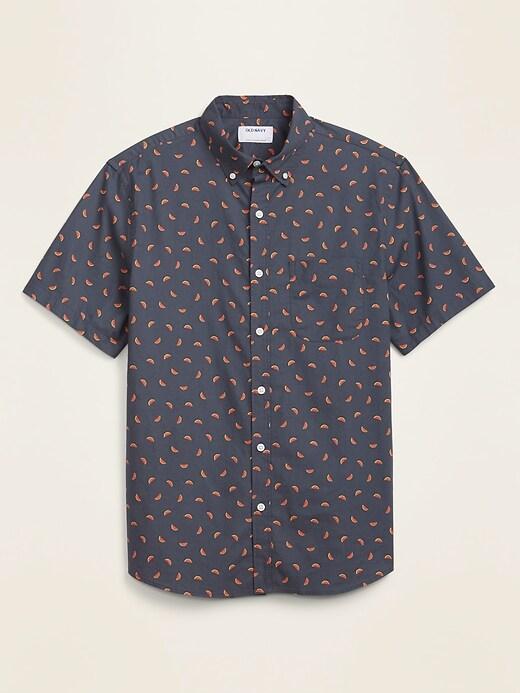 Built-In Flex Everyday Short-Sleeve Shirt for Men