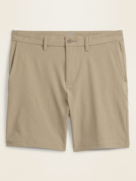 Slim Go-Dry Shade StretchTech Shorts for Men -- 8-inch inseam