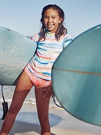 Athleta Girl Wave Break Reversible Bikini Bottom