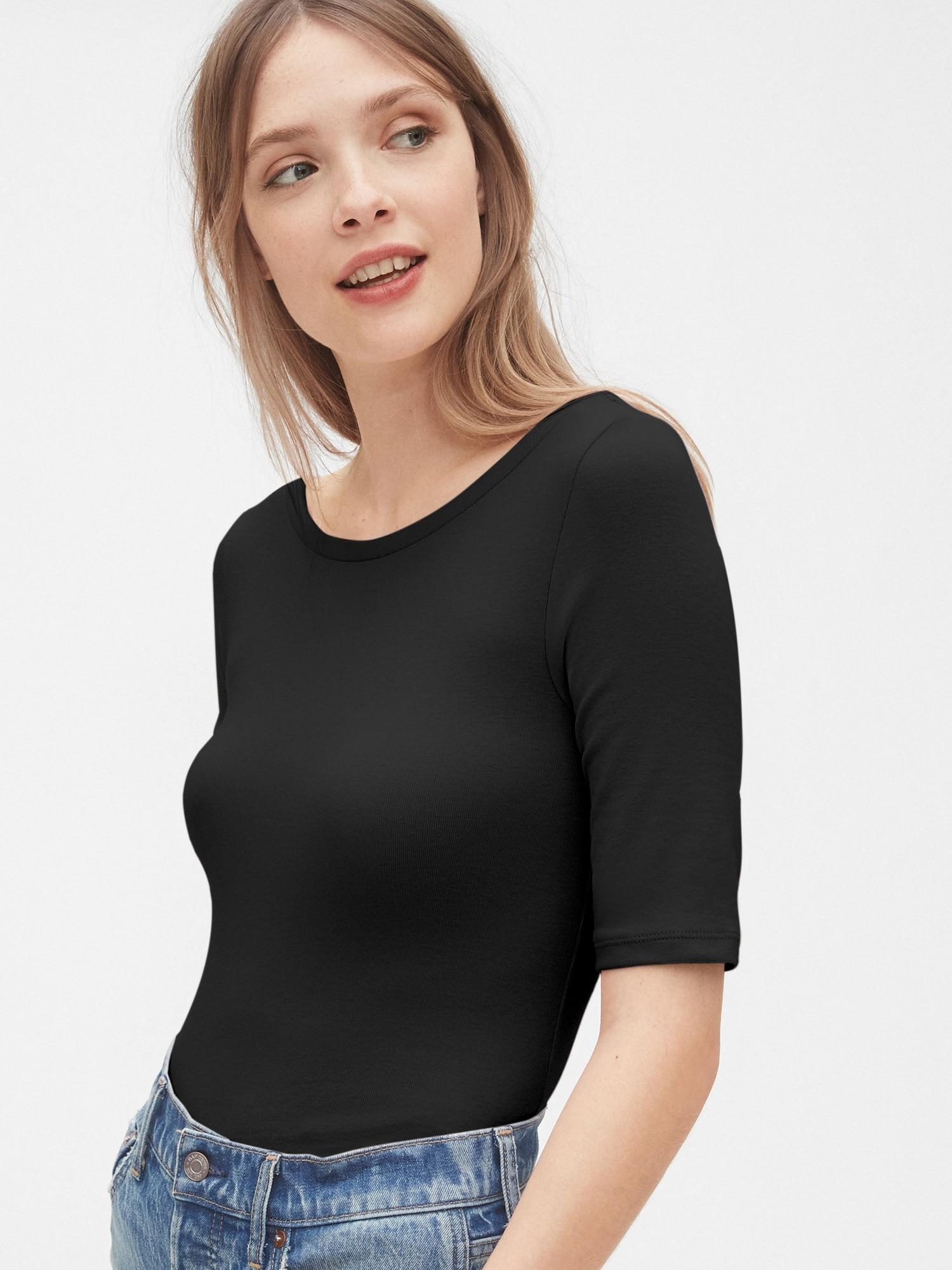 モダン バレエバックtシャツ