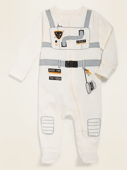 Costume Graphic Footed One-Piece for Baby