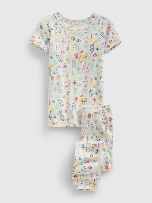 Gap babyGap Safari Critter PJ Set