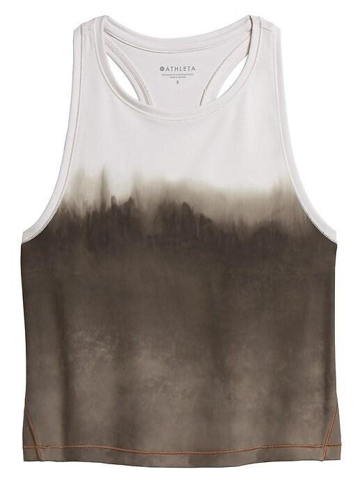 Shanti Watercolor Stripe Crop Tank