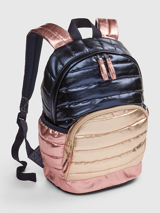 Kids Quilted Junior Backpack