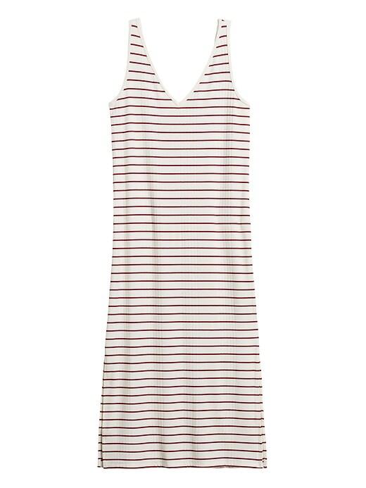 Petite Ribbed Tank Dress