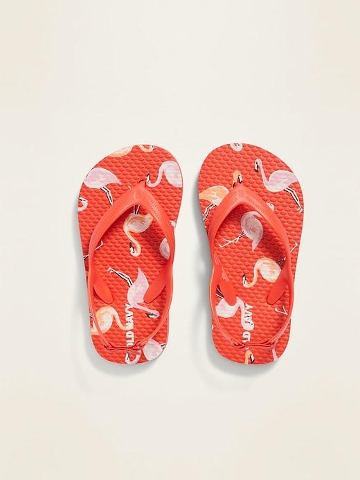 Printed Flip-Flops for Toddler Girls