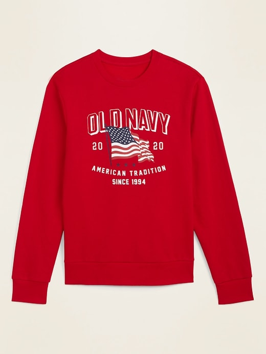 2020 U.S. Flag Graphic Unisex Sweatshirt