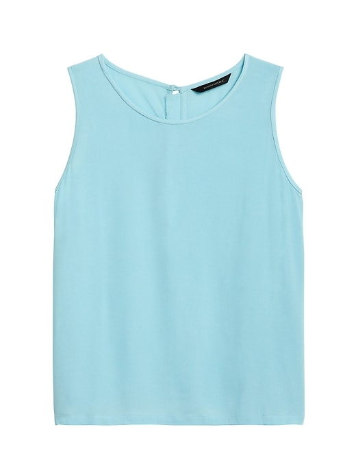 Cropped ECOVERO&#153 Button-Back Tank