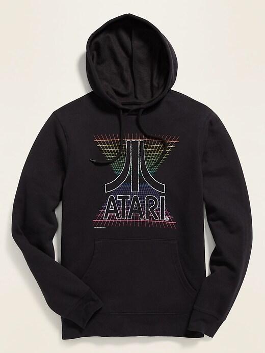 Atari&#174 Graphic Unisex Pullover Hoodie