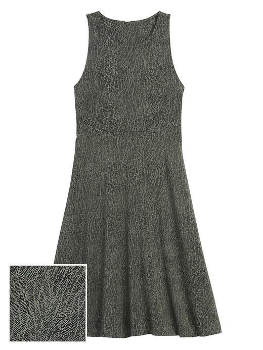 Santorini Thera Printed Dress