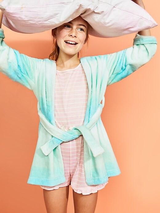 Micro Performance Fleece Critter Robe For Girls