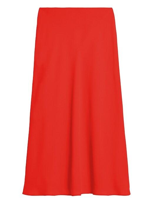 Bias-Cut Slip Skirt