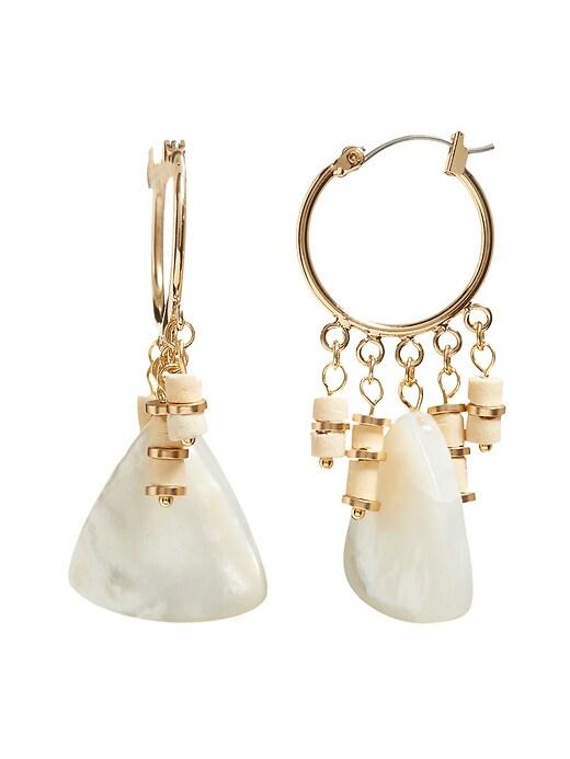 Woo & Pearl Drop Earrings