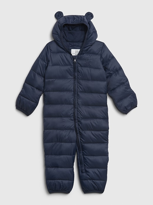 Baby Upcycled Lightweight Bundler Snowsuit