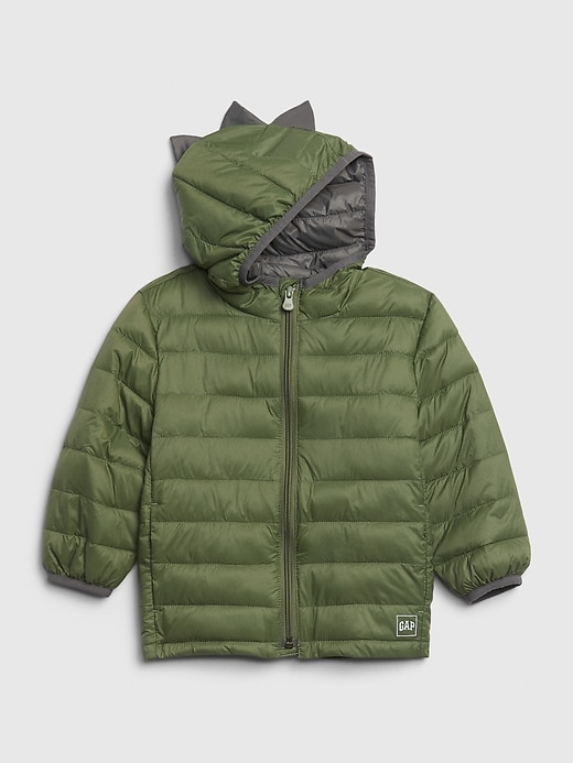 Toddler 3D Upcycled Lightweight Puffer Jacket
