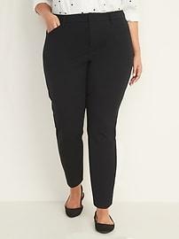 High-Waisted Secret-Slim Pockets Plus-Size Pixie Pants