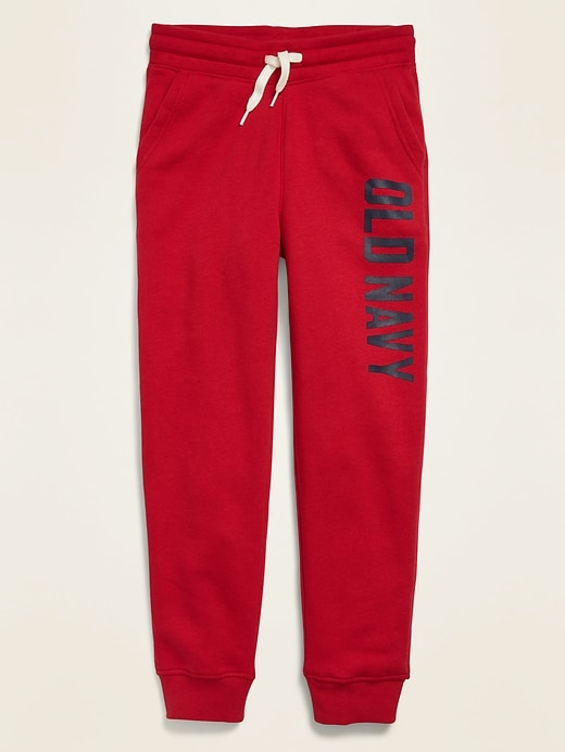 Logo-Graphic Joggers for Boys