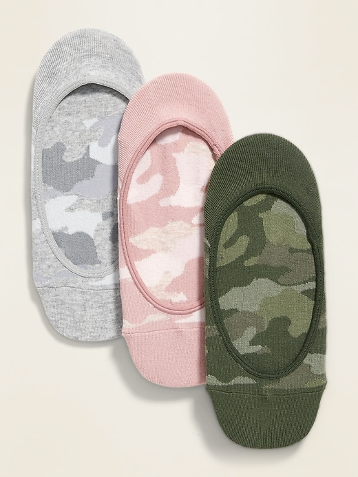 OLD NAVY No-Show Liner Socks 3-Pack for Women