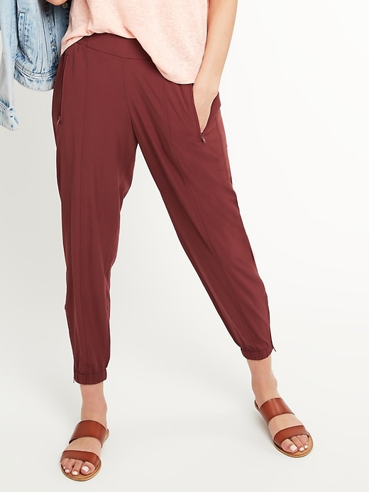 OLD NAVY Mid-Rise StretchTech Joggers for Women