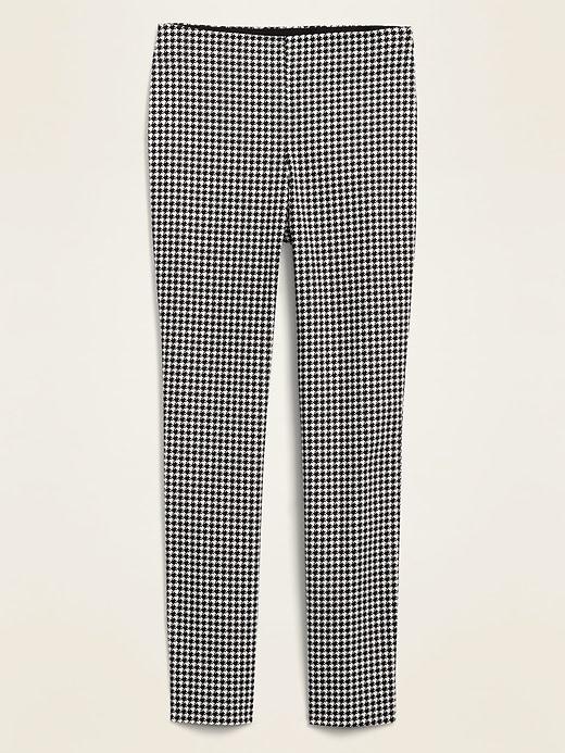 Pantalon super moulant à taille haute, longueur à la cheville pour femme