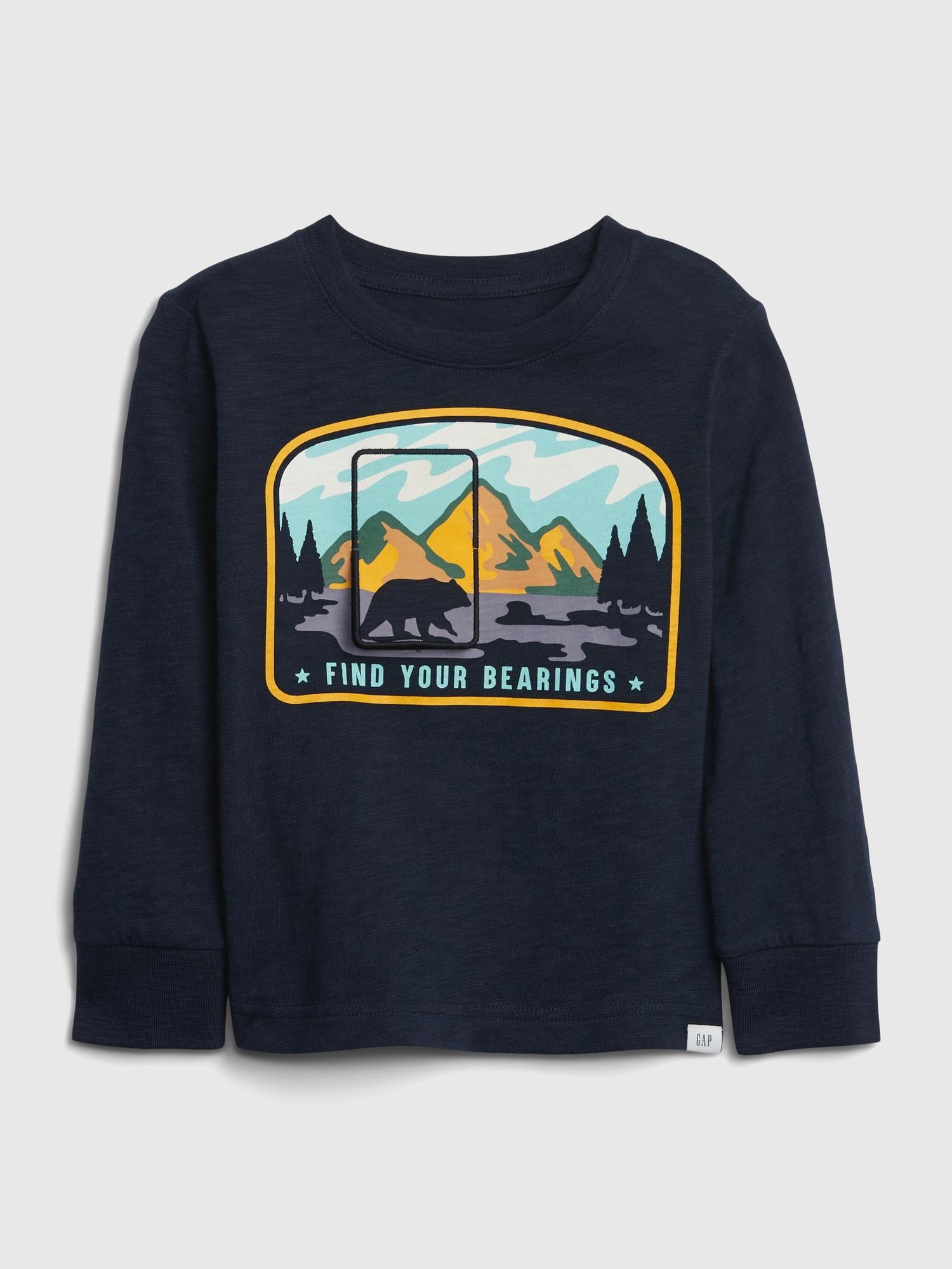 グラフィックtシャツ (幼児)