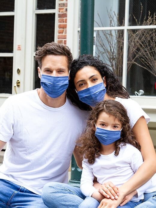 Family Unisex Face Masks (8-pack)