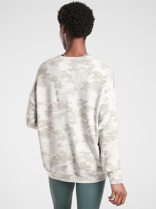 Pure Luxe Printed Sweatshirt